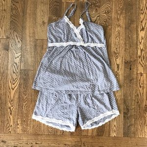 Pre-loved BELLABUMBUM nursing pajama set sz L